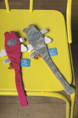 Klips do smoczka - przytulanka - zawieszka | Snoozebaby - różne kolory