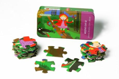 Puzzle 35 elementów | Czerwony Kapturek | The Purlpe Cow