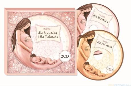 Muzyka dla brzuszka i dla maluszka | 2 CD | Kidimax - okładka