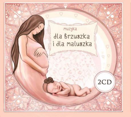 Muzyka dla brzuszka i dla maluszka | 2 CD | Kidimax