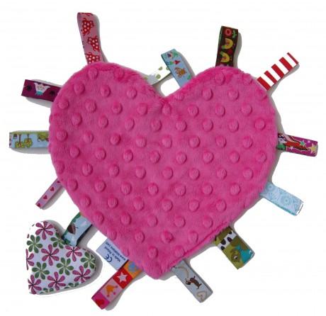 Sensorek Serce   Kolor różowy