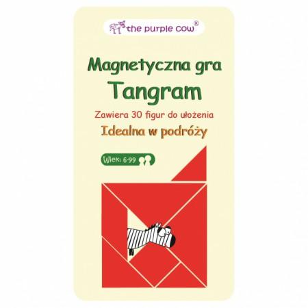 Gra magnetyczna Tangram   The Purple Cow
