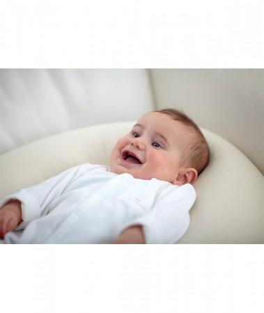Eko poduszka do karmienia   Nati Narturali   40settimane - może służyć jako ochraniacz w łóżeczku dziecka