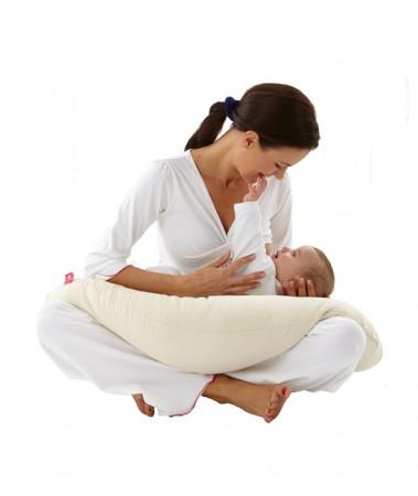 Eko poduszka do karmienia   Nati Narturali   40settimane - idealne rozwiązanie dla matki karmiacej piersią