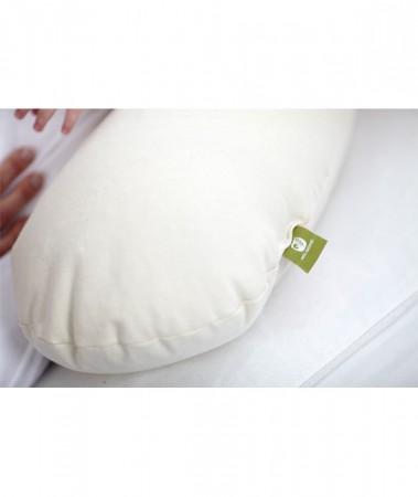 Eko poduszka do karmienia   Nati Nartural  40settimane - dzięki ekologicznemu wypełnieniu poduszka posiada naturalne właściwości antyalergicznei