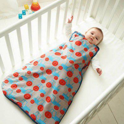 Śpiworek do spania 0-6 m | całoroczny 2,5 tog | Gro Company - wykonany jest z miękiej bawełny