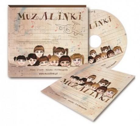 Muzalinki - piosenki do wierszy Tuwima | CD + książeczka | Kidimax