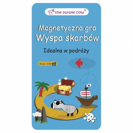 Gra magnetyczna Wyspa Skarbów | The Purple Cow