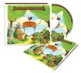 Wiejskie zoo - muzyka dla dzieci   CD+książeczka   Kidimax