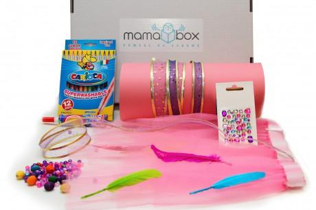 Mamabox | Świat królewny - zestaw do kreatywnej zabawy z dzieckiem