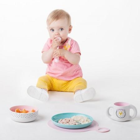 Zestaw jest estetycznie opakowany - polecane dla dzieci od 6 miesiąca