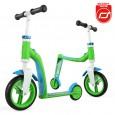 Rowerek biegowy i hulajnoga 2w1 | Highwaybaby | Scoot & Ride | kolor ZIELONY