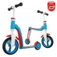 Rowerek biegowy i hulajnoga 2w1 | Highwaybaby | Scoot & Ride | kolor NIEBIESKI