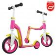 Rowerek biegowy i hulajnoga 2w1 | Highwaybaby | Scoot & Ride | kolor RÓŻOWY