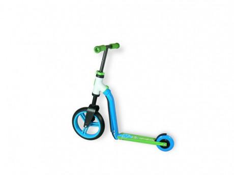 Rowerek biegowy i hulajnoga 2w1 | Highwaybaby | Scoot & Ride | bez narzędzi zamienisz hulajnogę w bezpieczny rowerek biegowy dla swojego dziecka