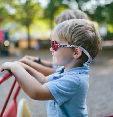 Gumka utrzymująca okulary na głowie dziecka Babiatoprs - polecane zwłaszcza dla dzieci poniżej 3 lat