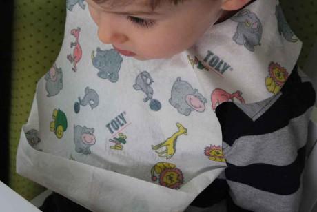 Jednorazowe śliniaczki dla dzieci | Toly