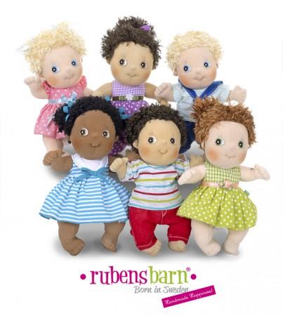 Lalki Rubens Barn Cutie - wspanały prezent dla dziecwczynki jak i dla chłopca