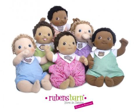 Lalka Rubens Barn Baby nowa seria