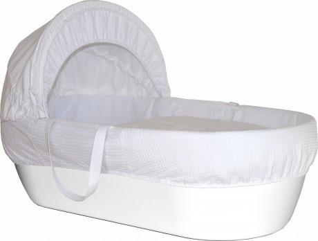 Kosz Mojżesza - łóżeczko | kolor biały | Shnuggle