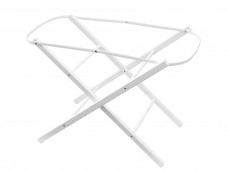 Stojak do kosza mojżeszowego | Shnuggle | kolor biały