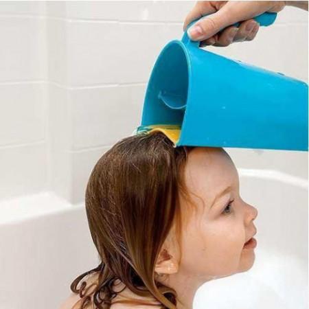 Kubek do mycia głowy z miękką krawędzią Abakus Baby