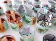 Strażnik smoczka i gryzaka | zajączek KIC | Lullalove - idealny na prezent zapakowany w kolorową tubę
