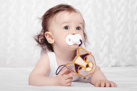 Strażnik smoczka i gryzaka | ryś RIK | Lullalove - dla dziecka od dnia narodzin