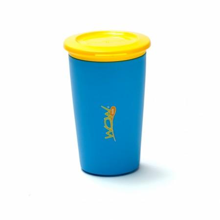 Kubek niekapek 360 stopni | WOW Cup Kids 266 ml | niebieski
