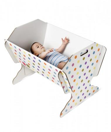 Eko łóżeczko dla dziecka od dnia narodzin do kilku miesięcy | 40settimane
