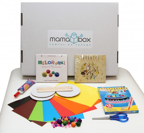 Mamabox - pomysł na kreatywną zabawę | Rodzinne muzykowanie