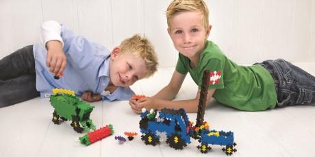Klocki Plus-Plus kreatywna zabawa dla dzieci od 3 roku życia