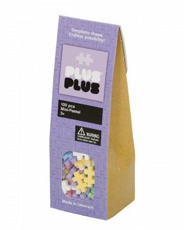 Klocki Plus-Plus | Mini | 100 szt. | wersja kolorów PASTEL