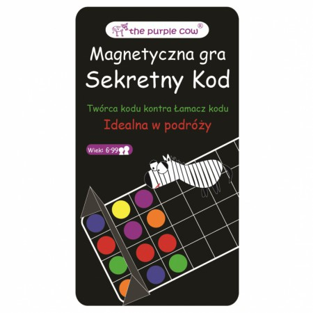 Gra magnetyczna Mastermind Secret code   The Purple Cow