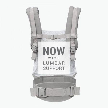 Nosidło | wzór GALAXY GREY | Ergobaby Original Collection - w nowej wersji, w pasie biodrowym jest dodatkowa podpórka dla kręgosłupa lędźwiowego.