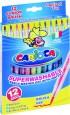 Pisaki akwarelowe 12 kolorów | Carioca