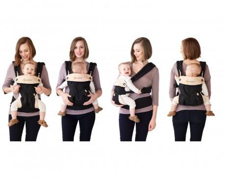 4 pozycje noszenia dziecka w nosidełku Ergobaby 360