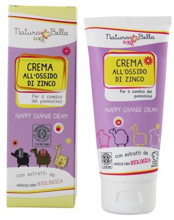Krem z cynkiem przeciw odparzeniom pieluszkowym 100 ml | Natura Bella baby