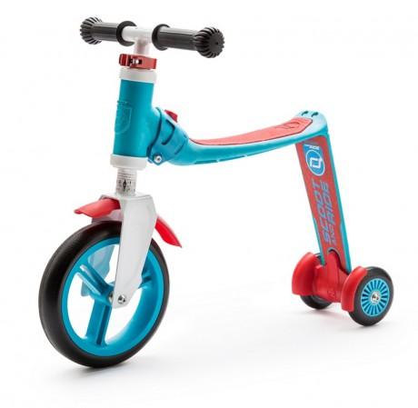 Rowerek biegowy i hulajnoga 2w1 | 1-3 lata Highwaybaby Plus | Scoot & Ride  jako rowerek