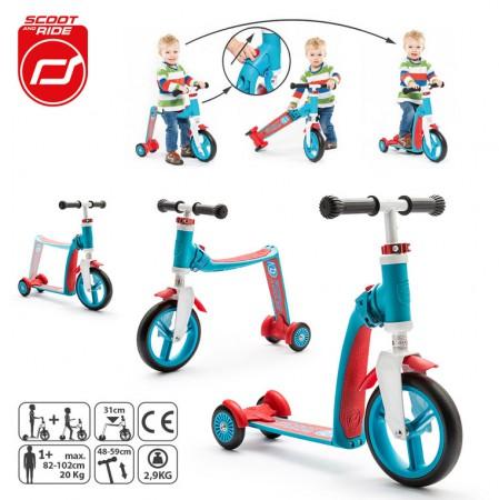 Zmiana hulajnogi na rowerek jest bardzo prosta