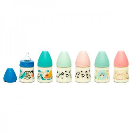 Nowa kolekcja butelek ze smoczkiem okragłym Suavinex