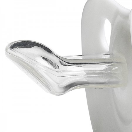 Anatomiczny kształt końcówki smoczka - silikon