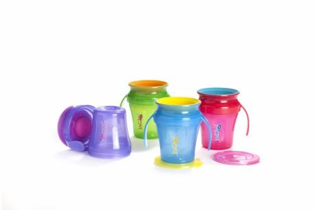 Kubki WOW JUICY Cup Baby 207 ml - różne kolory