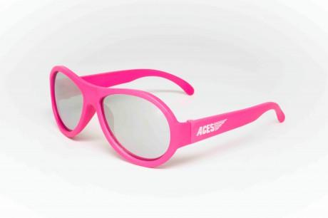 Okulary przeciwsłoneczne Aces Aviator | Różowe lusterkowe | Babiators