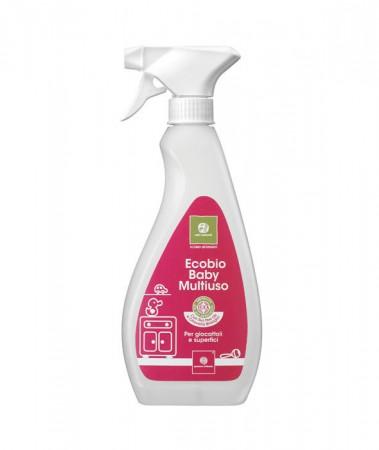 Ecobio dezynfekujący spray do zabawek i mebli 500 ml | Nati Naturali 40 settimane