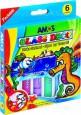 Farby witrażowe 6 kolorów Glass Deco | AMOS