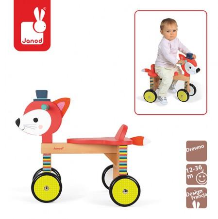 Rowerek czterokołowy Lisek Baby Forest | Janod