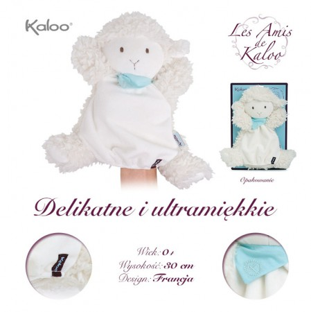 Owieczka Waniliowa pacynka 30 cm | kolekcja Les Amis | Kaloo