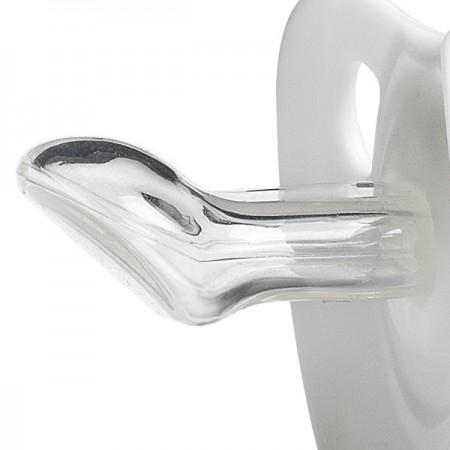 Anatomiczny kształt smoczka wykonanego z silikonu