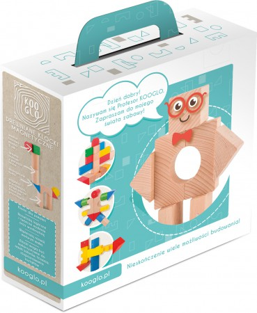 Zabawka zapakowana jest w eleganckie pudełko
